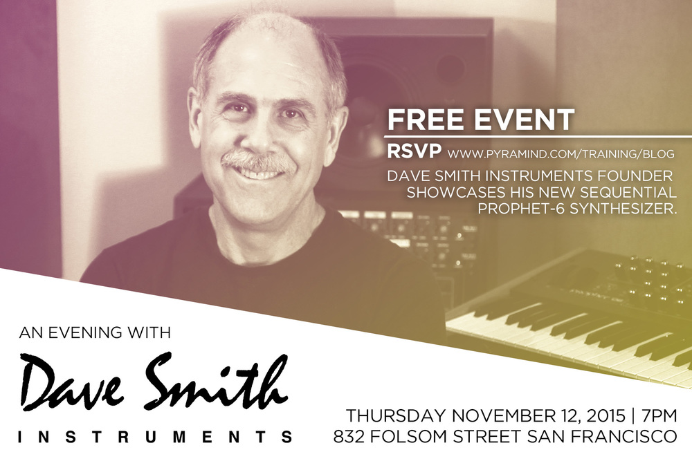 An Evening with Dave Smith | Pyramind