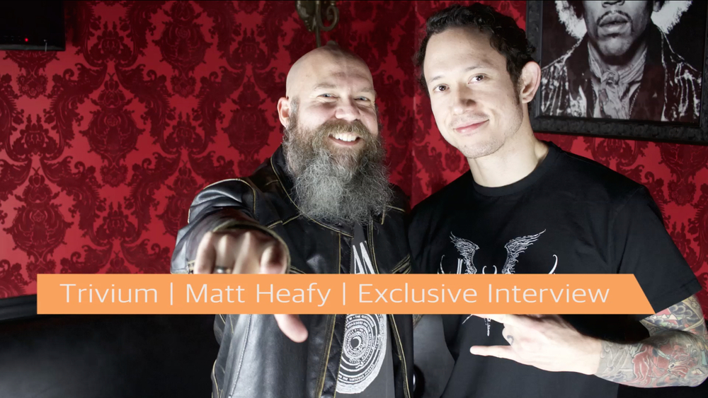 Trivium | Matt Heafy | Exclusive Interview