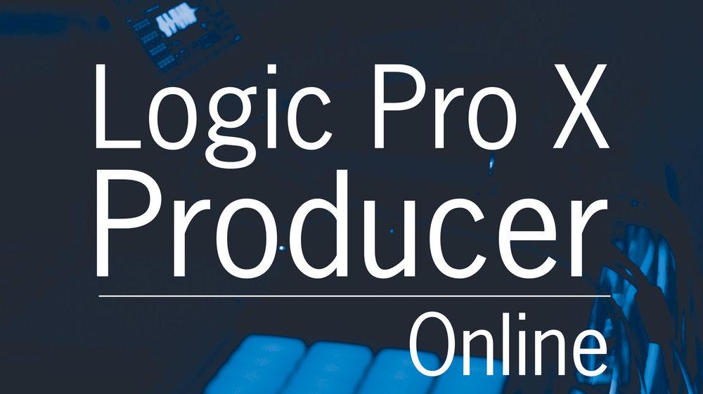 Logic Pro X Producer Program Online