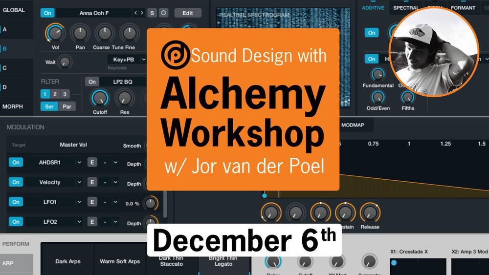 Sound Design in Alchemy Workshop