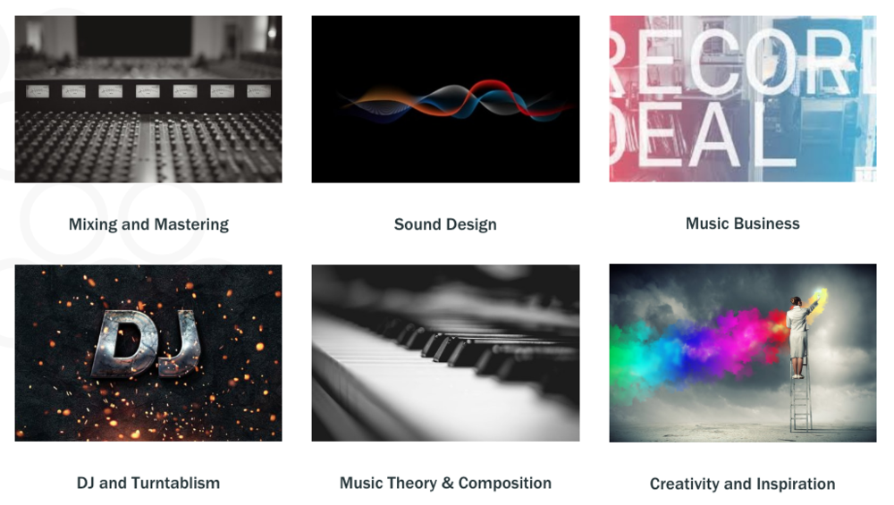 Choose From A Deep Selection Of Services And Subjects. - Our mentors are experts in numerous DAW's, musical styles, subjects, and disciplines. Whatever you're looking to learn better, we have a service and a mentor for you. From mixing to mastering to creating new sounds from scratch or implementing your music into a game, we have the experience to get you there faster.