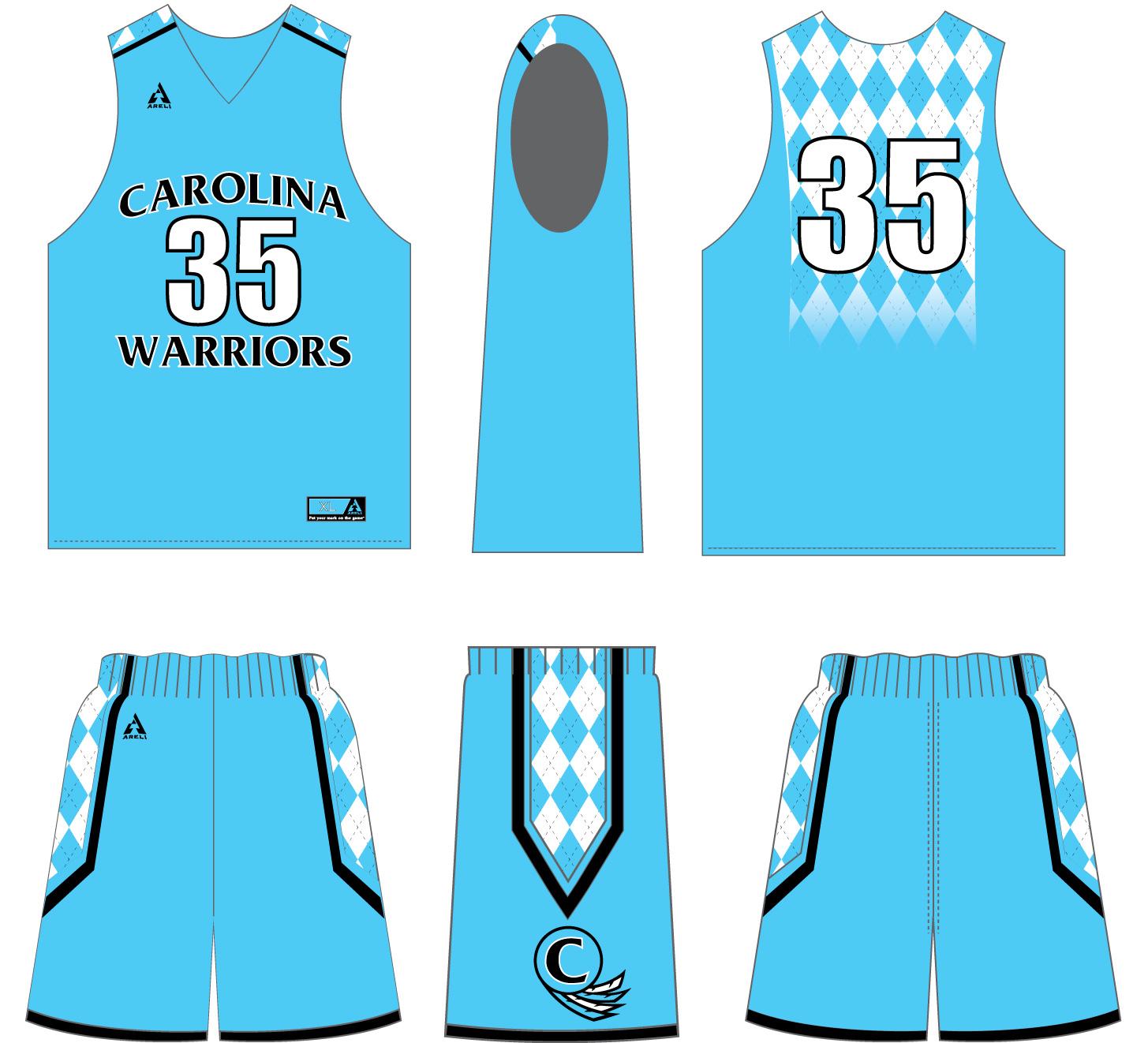 cc173330e Custom Sublimated Basketball Game Uniform — Areli Sportswear