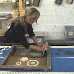 East end press screen printing fabric edinburgh scotland