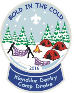 2016 Bold in the cold klondike derby patch