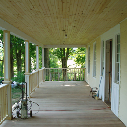 PORCH ADDITION