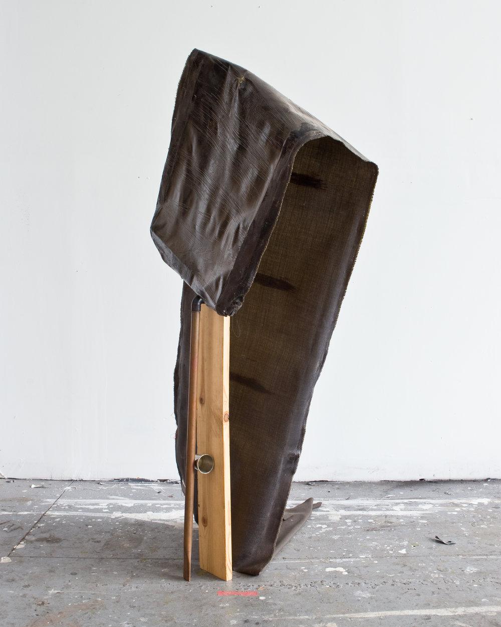Regenerative Landscape | Fabric,polyurethane, copper, pewter, wood, wood stain, 2017