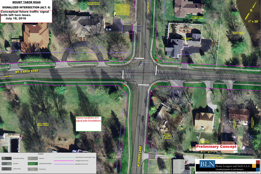 Mt. Tabor Road Restoration and Pedestrian Safety Project Update