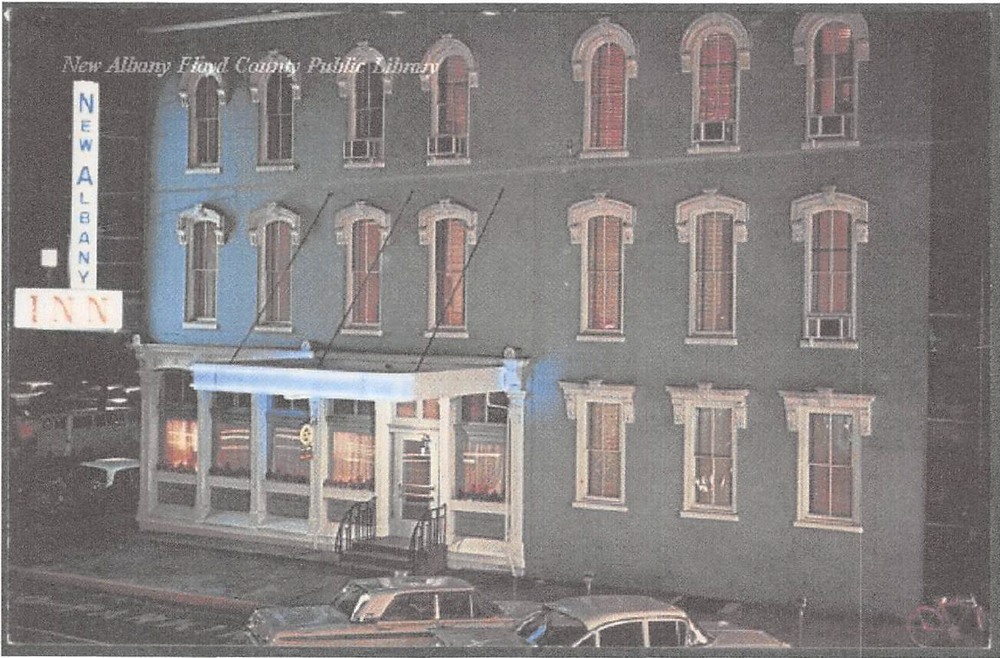 New Albany Inn on Market Street in the late 1950s.
