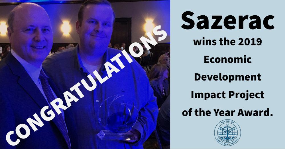 Sazerac Wins 1si Award.jpg