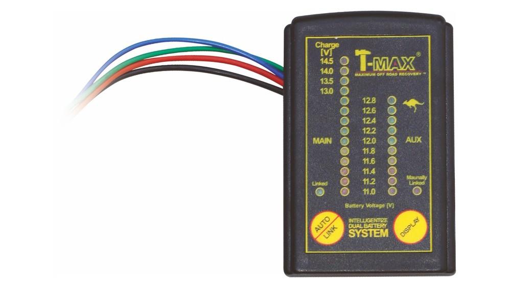 Doppelbatteriesystem — T-MAX Seilwinden und Bergezubehör