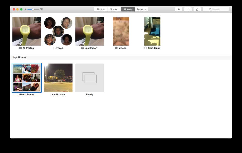 Album organization is still a bit confusing.