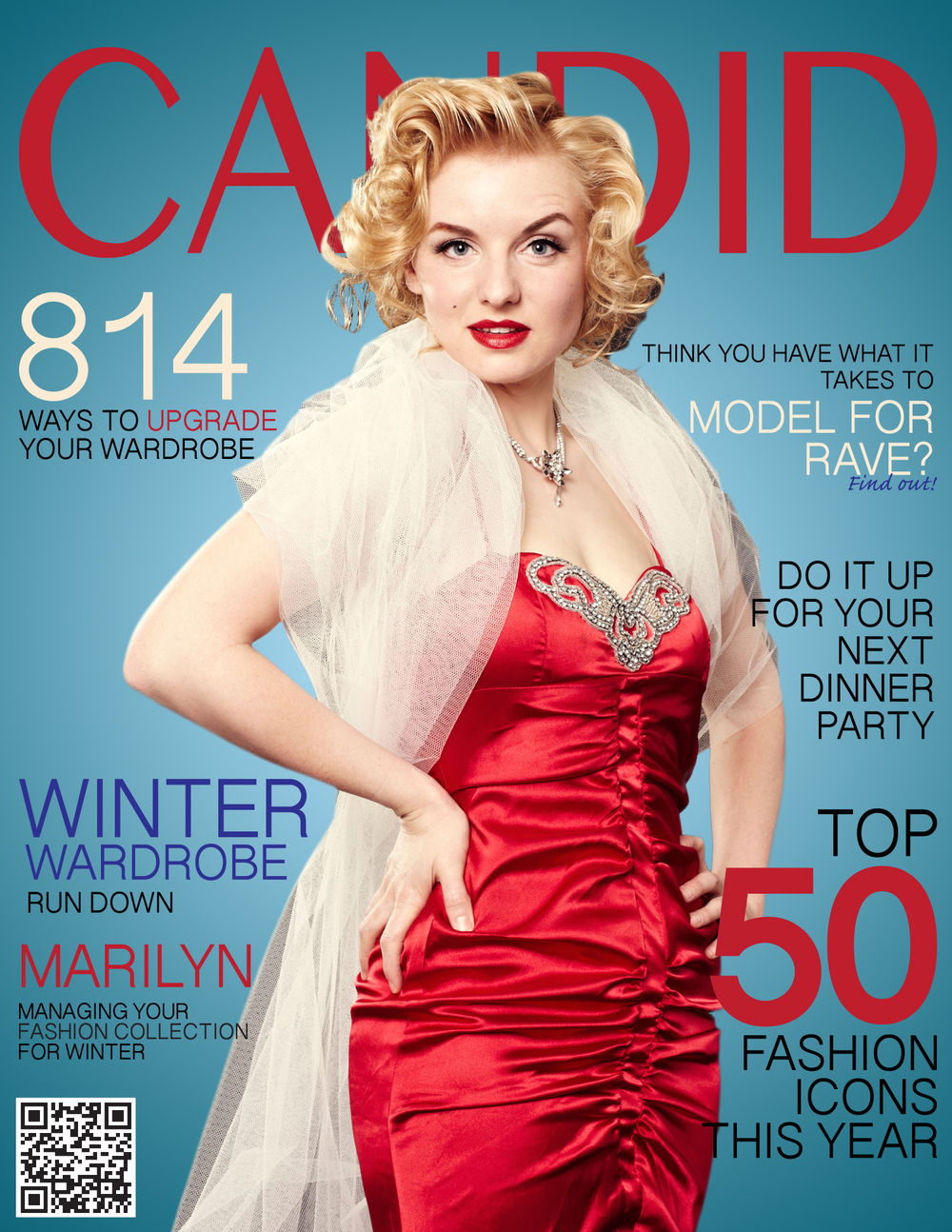 Marilyn Monroe Magazine Cover