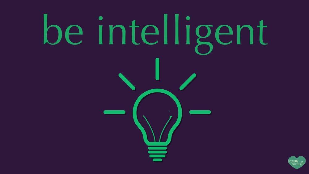 Be Intelligent Wallpaper for Desktop