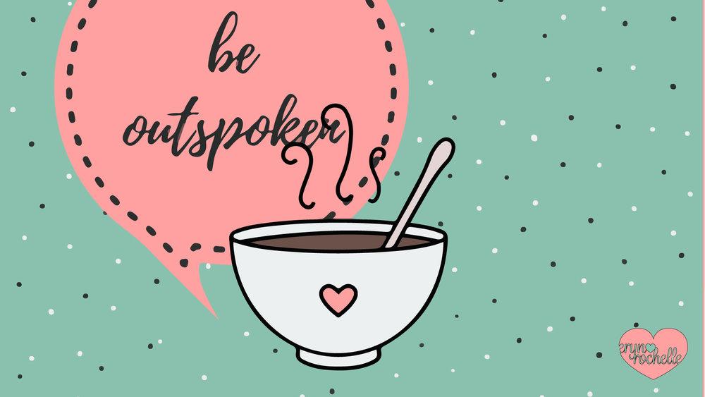 Be Outspoken Wallpaper For Desktop