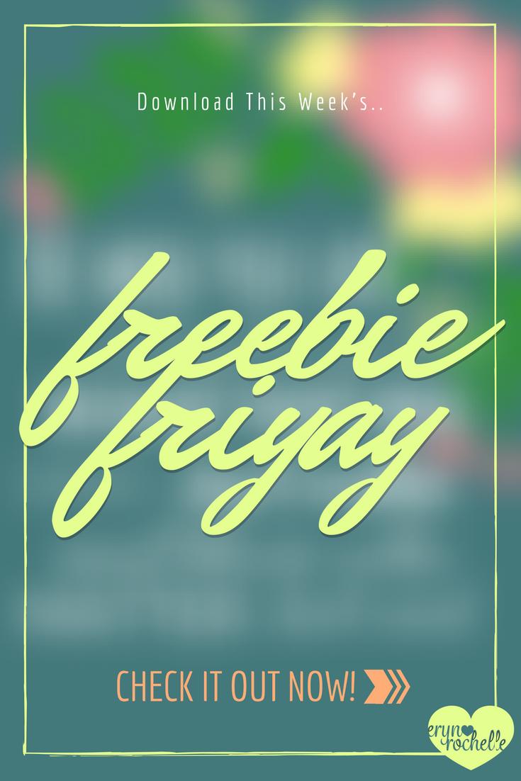 Freebie Fri-YAY