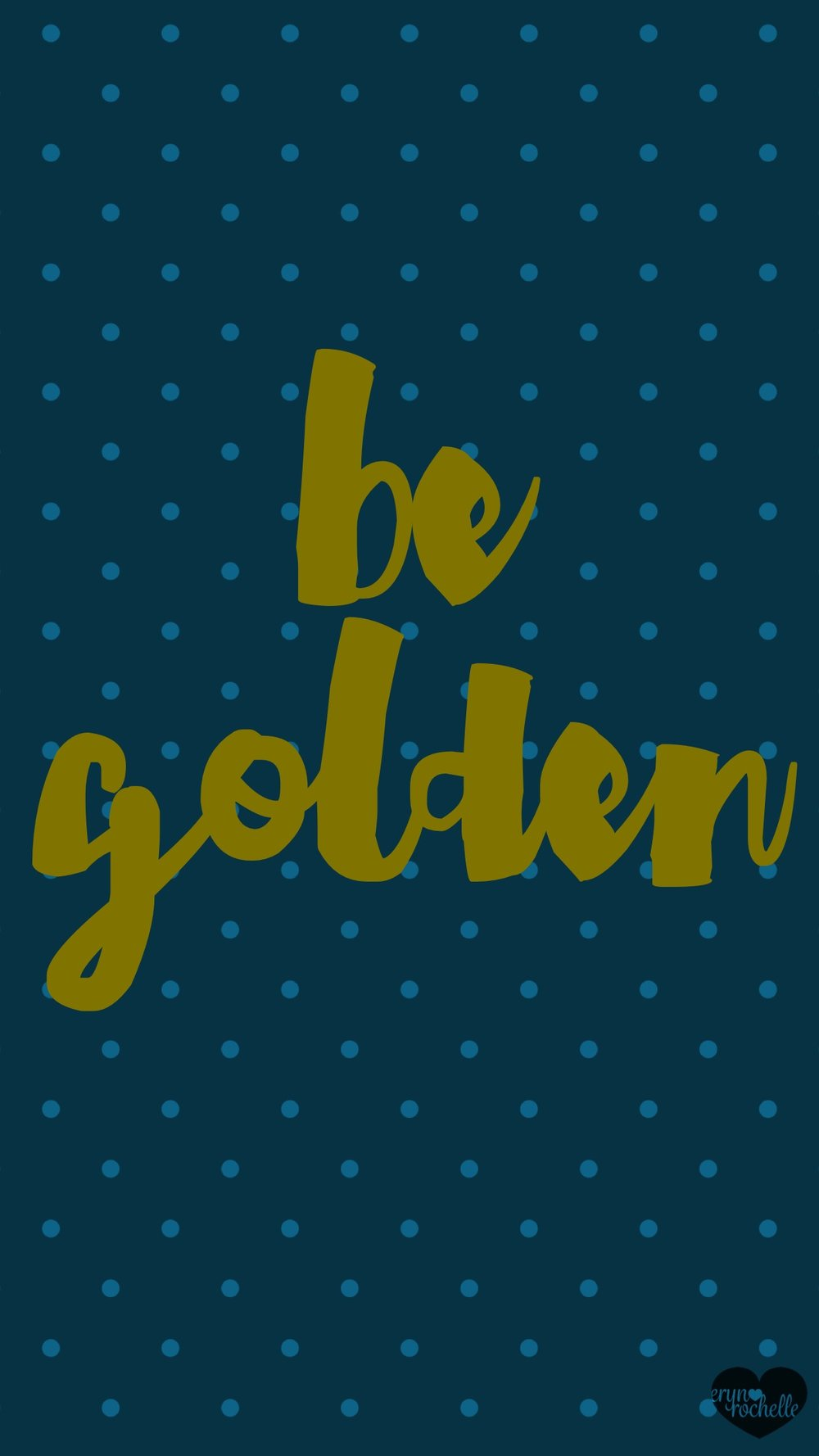 Be Golden Wallpaper