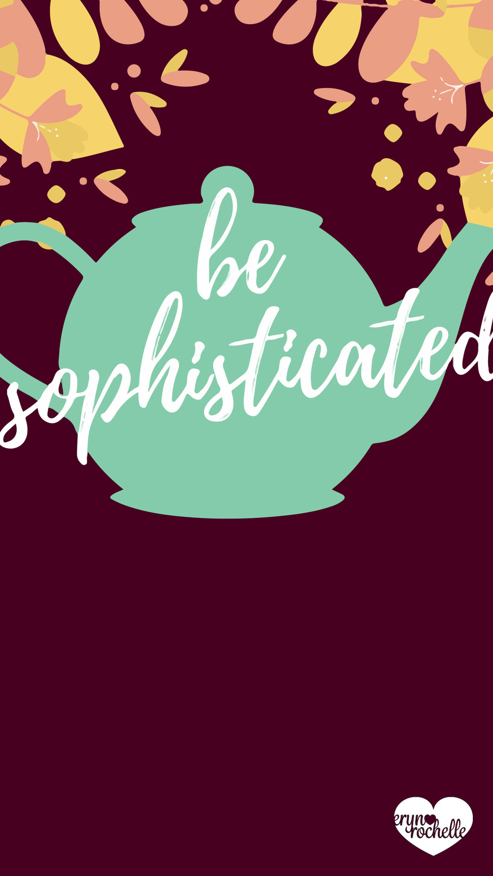 Be Sophisticated Wallpaper