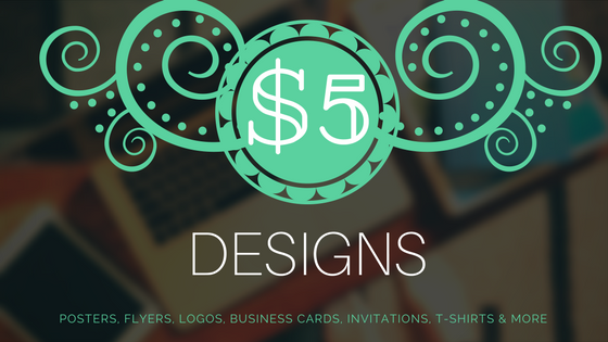 Summer Sale - To kick off summer, all designs are starting at $5! The sale is only for a limited time, so order your custom designs now! Click here to visit my fiverr gigs page.