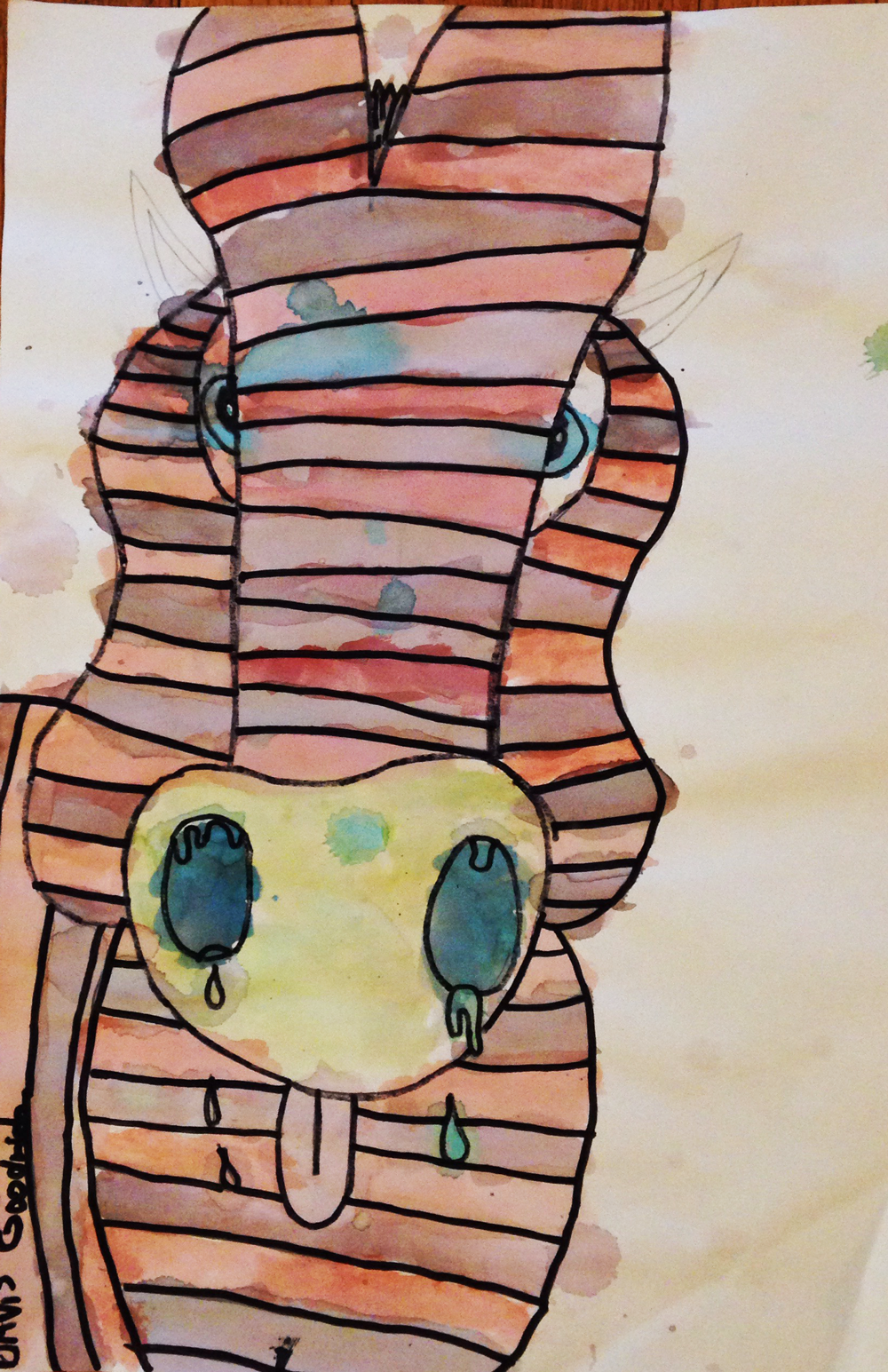 Davis' Zebra original art.png