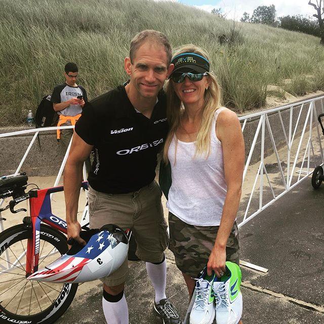 Starky is BACK! Your 2017 Steelhead 70.3 champion! #michigan #ironman #triathlon #orbeabikes