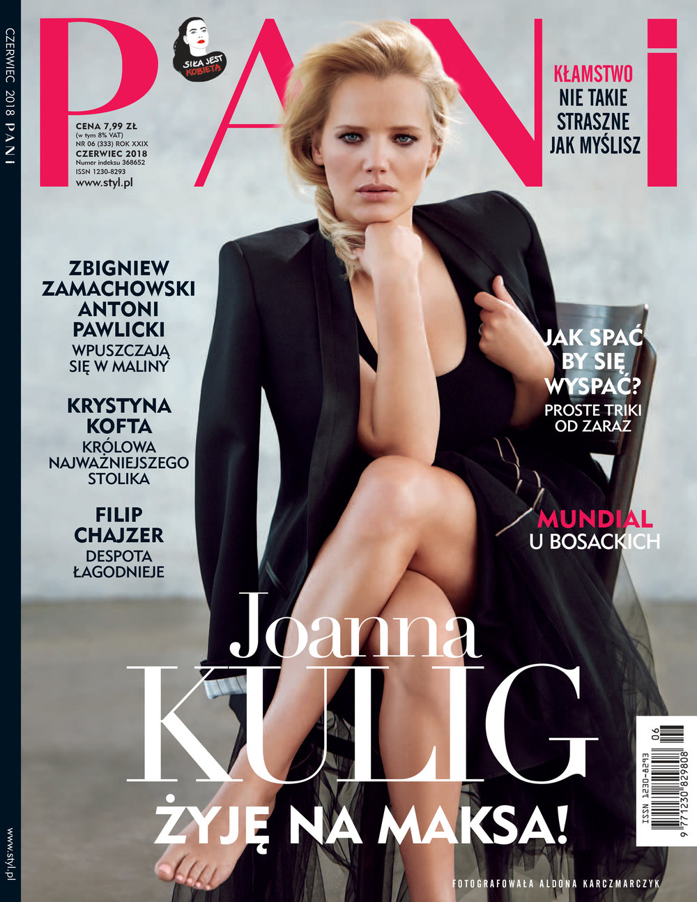 Joanna Kulig for PANI Magazyn