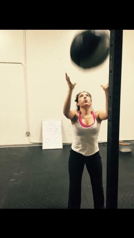 Maria crushing then wallballs!