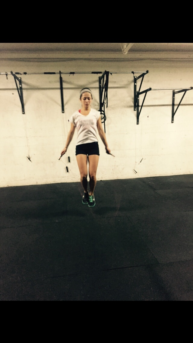 Miss.Cynthia crushing them double unders!