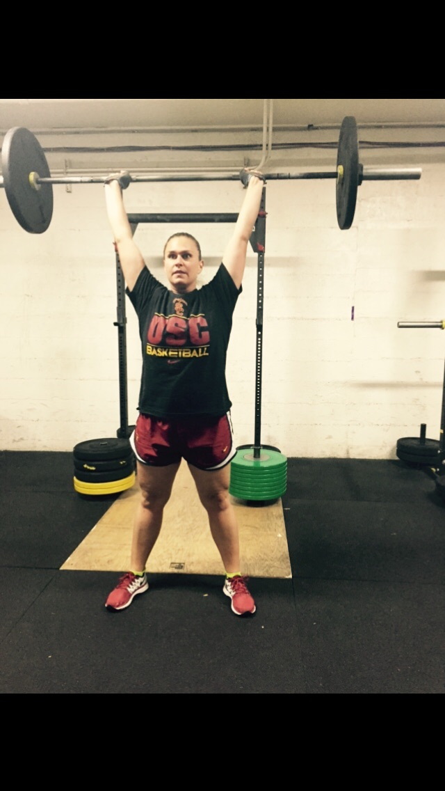 Miss Jessika crushing them thrusters! #FightOn