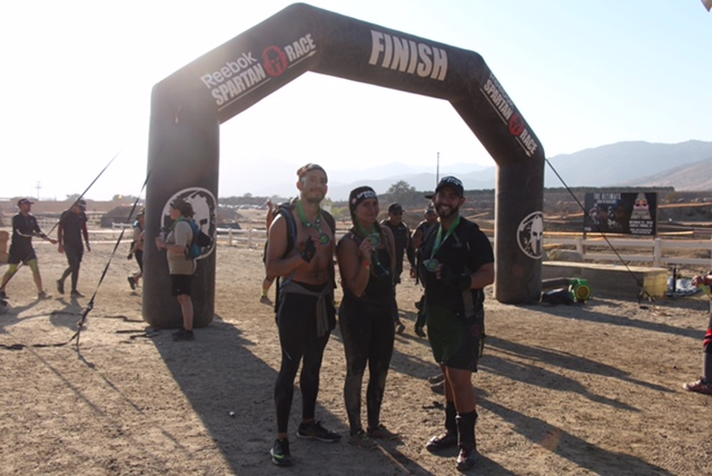 """A Spartan pushes their mind and body to their limits."" CONGRATS GUYS!!"