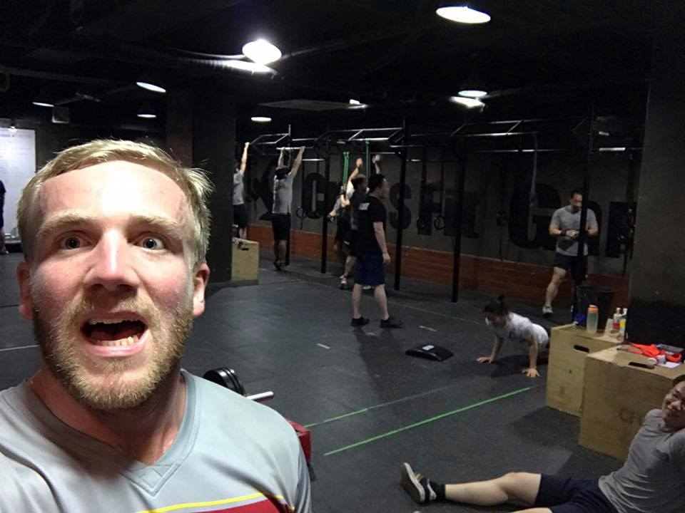 That moment when your miles away from home, and you still find CrossFit box to train at!