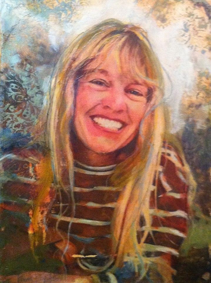 "'Donna's Memorial', oil, 8"" x 10"""