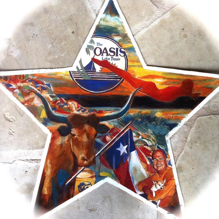 "'Oasis Star,  available as 6"" ornament, or 12"",18"",30"" Barn Star"