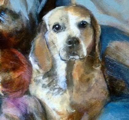 Pet Portrait by Sharon Roy Finch
