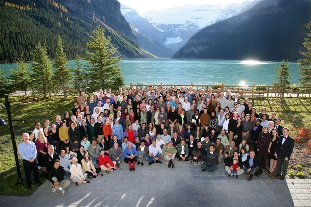 Group at Lake Louise