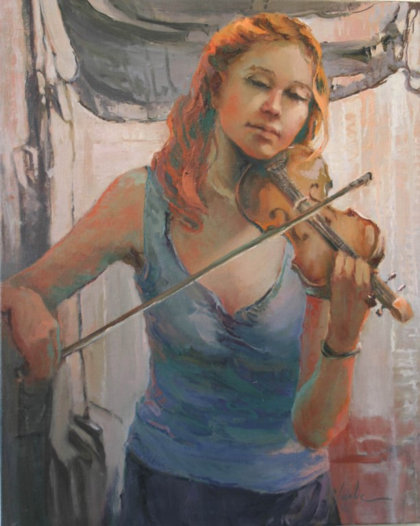 The Violinist - Girl Child