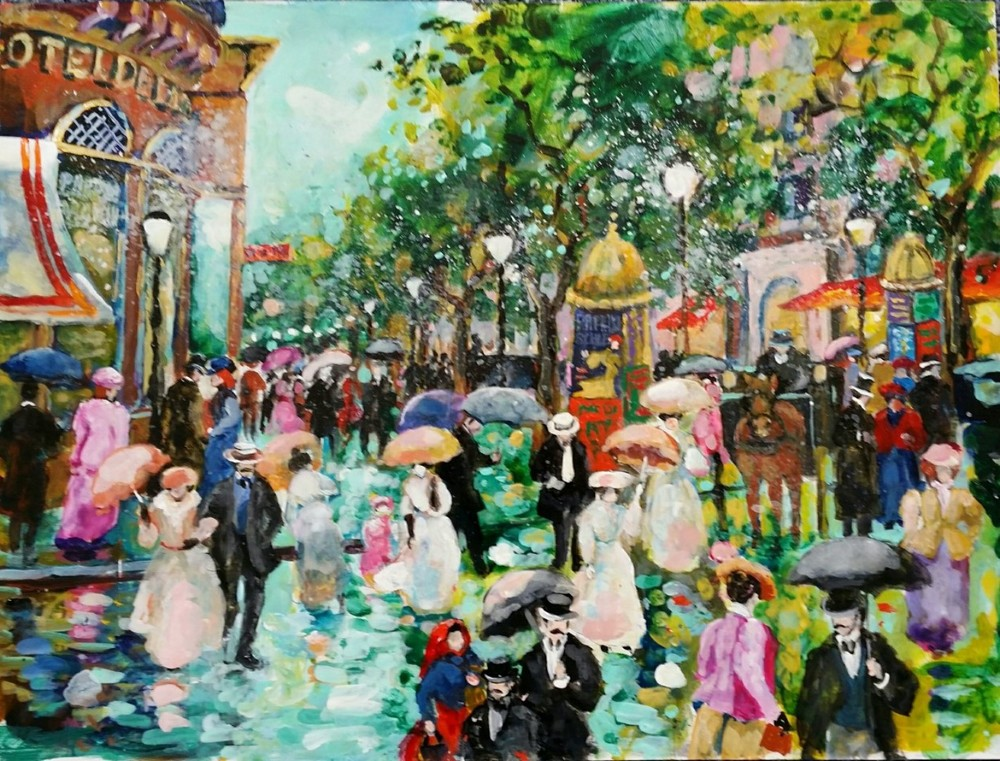 Umbrellas of Paris