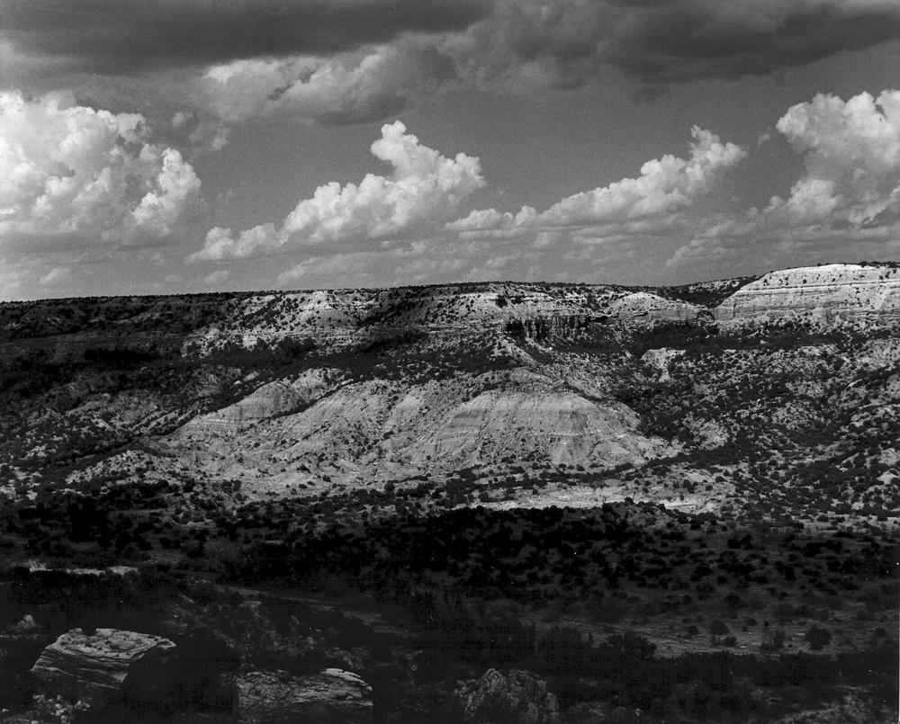 Dappled Light in Palo Duro Canyon