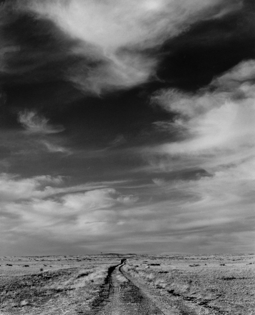 Road and Clouds Near Channing, Texas