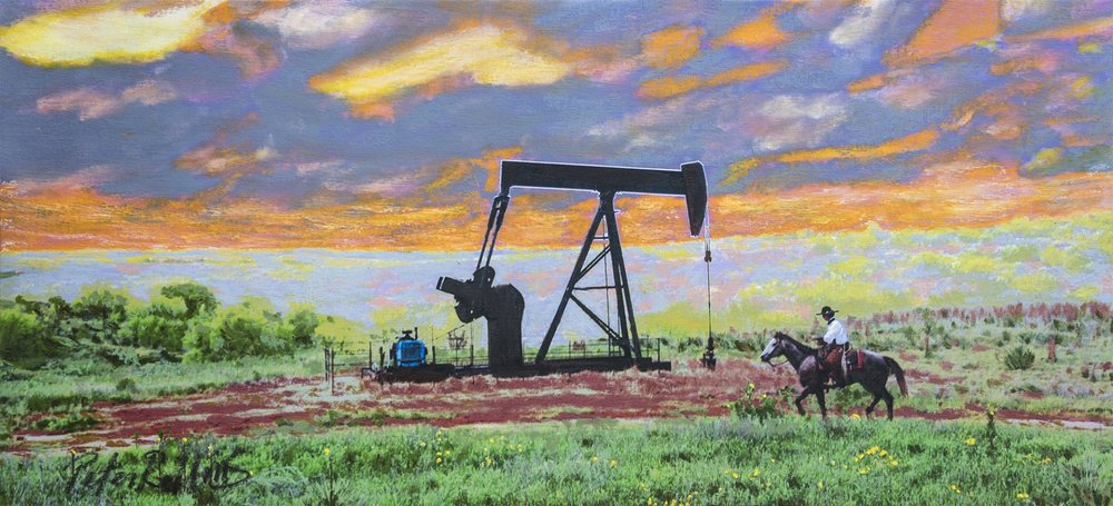 Cowboys and Pumpjacks
