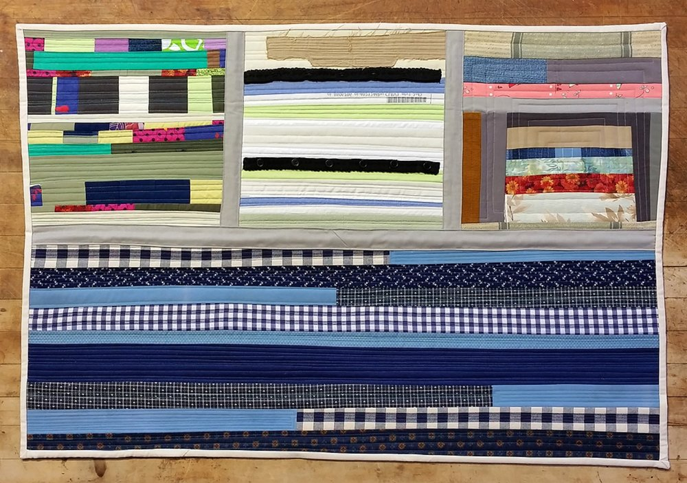 Quilt Diary 201701:  Falling Together at the Seams