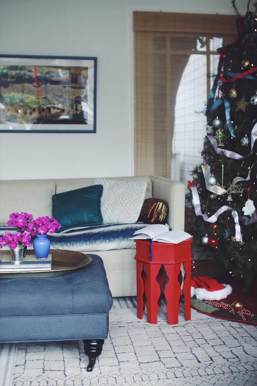 Katie Gavigan Interiors Blogger Stylin' Home Tours Christmas 2016