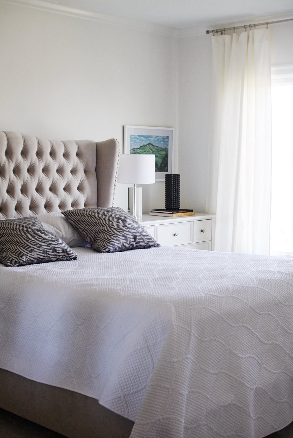 Katie Gavigan Interiors San Francisco Master Bedroom Neutral