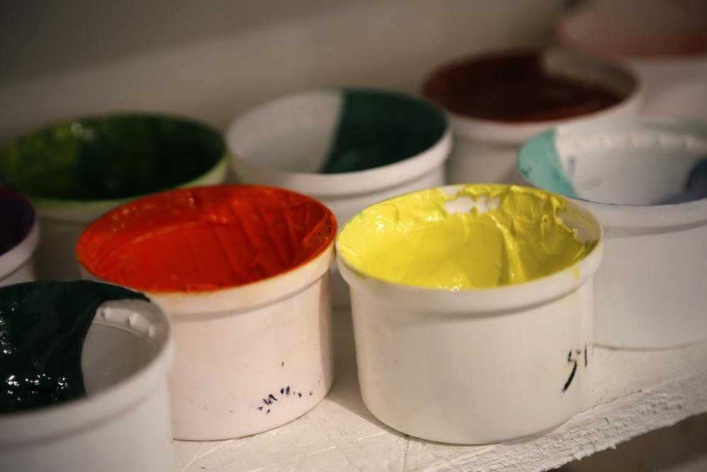 custom ink, plastisal ink, water based inks, discharge, custom colors.