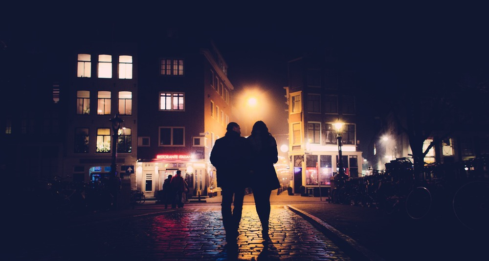 marius vieth street photography one night in amsterdam