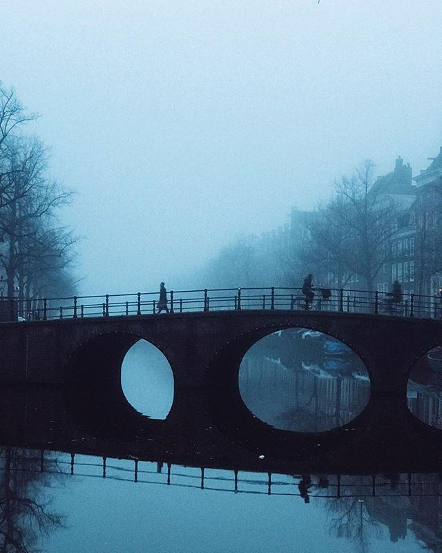 Foggy winter days... ☔️