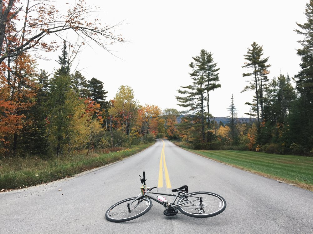 Weathered In Vermont   Christina Torres escapes into Vermont's Green Mountains for an autumn bike tour.   Read More