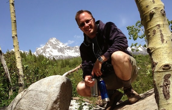Derek in the Tetons