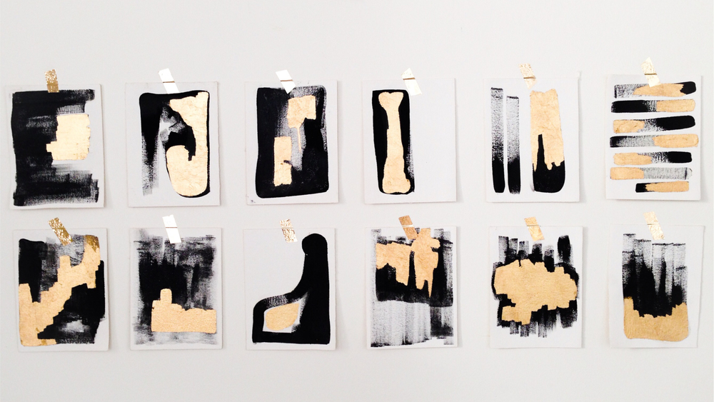 Oro Negro , 2011. Mixed media. Installation.