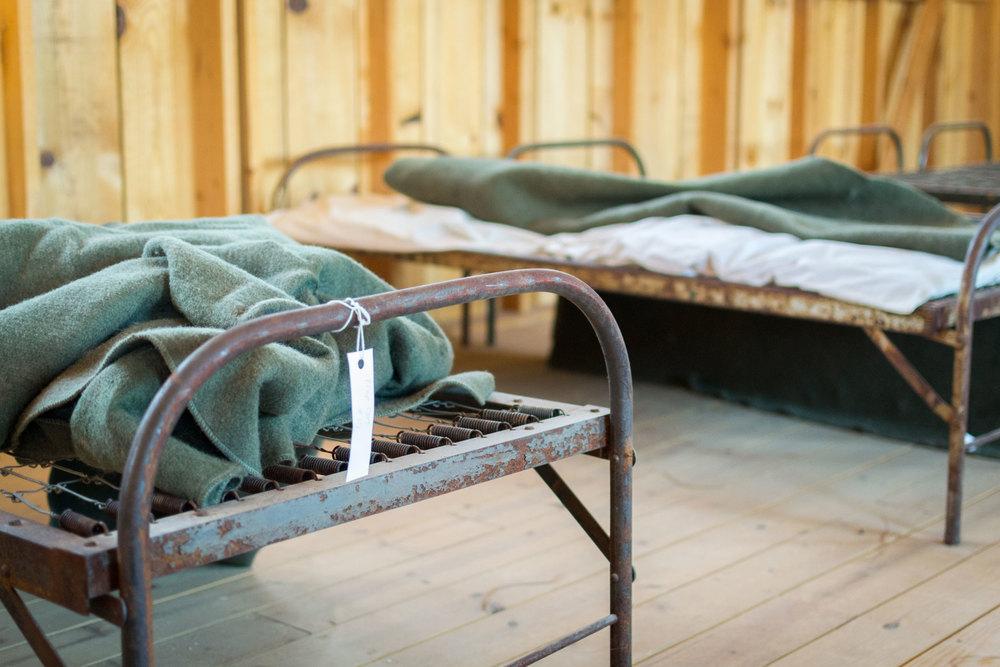 Barracks, Manzanar War Relocation Center