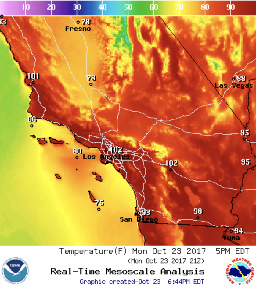 National Weather Service - Oct. 23, 2017